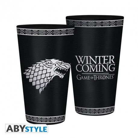 GAME OF THRONES - Sklenice - 400ml - Stark