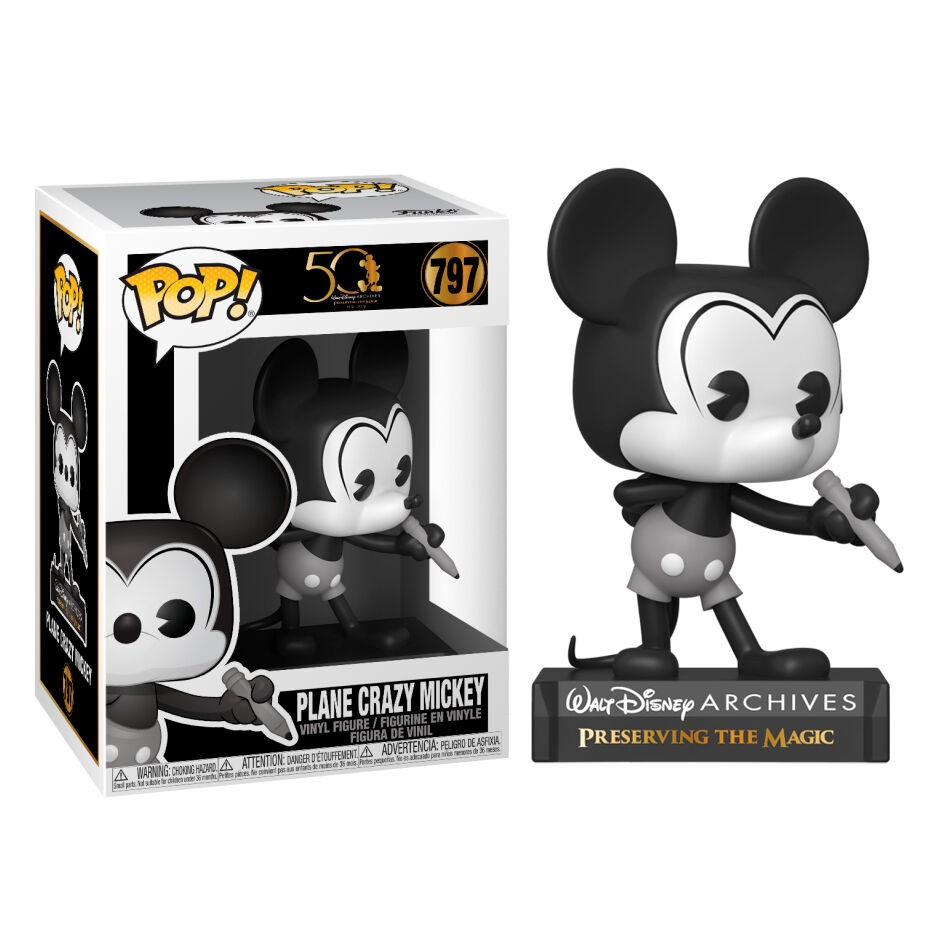 Funko POP!Disney Archives Mickey Mouse Plane Crazy Mickey