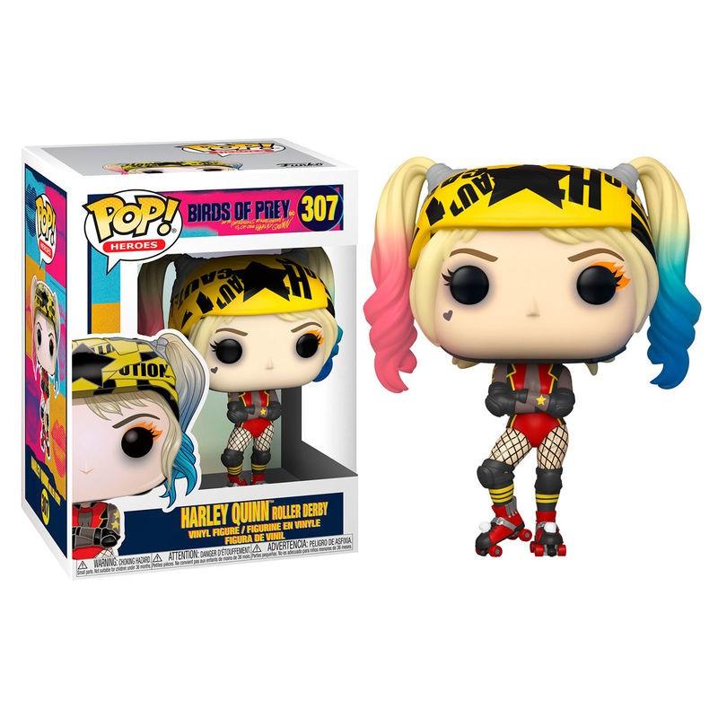 Funko POP! Birds of Prey Harley Quinn Roller Derby
