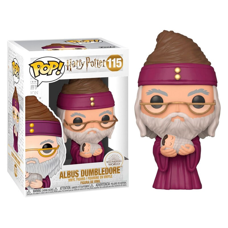 Funko POP! Harry Potter Dumbledore with Baby Harry