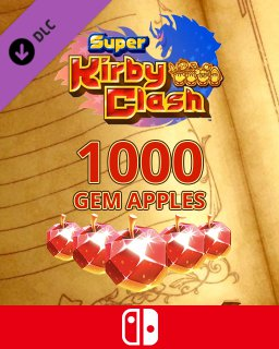 1000 Gem Apples dla Super Kirby Clash